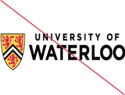 University of Waterloo logo -improper resizing