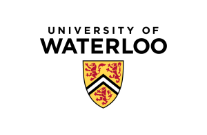University of Waterloo logo - vertical, colour