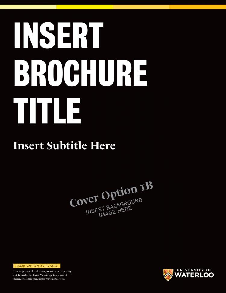 Sample brochure template.
