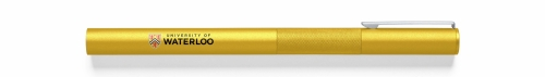 UWaterloo pen, gold