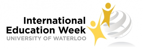 International Education Week at the University of Waterloo event logo