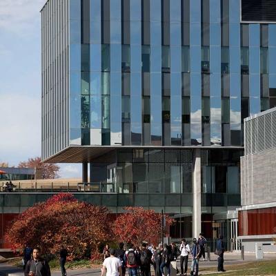 Mike & Ophelia Lazaridis Quantum-Nano Centre, exterior