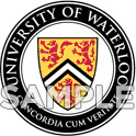 University of Waterloo seal - colour sample