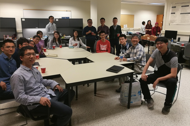 Professor Fang visits BBCR