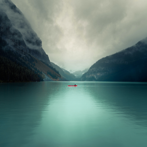 Mountains in Alberta, Canada