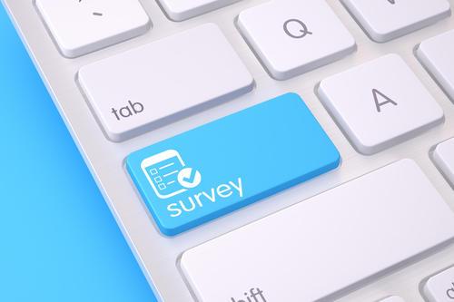survey key on keyboard