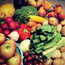 market vegtables