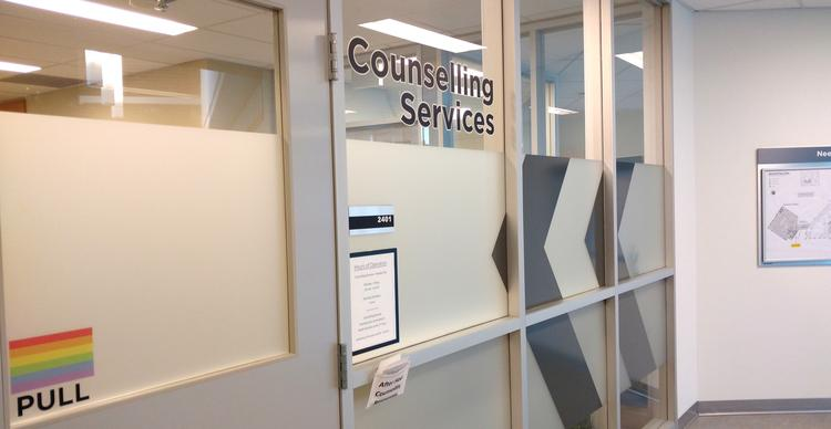 The Counselling Services doors