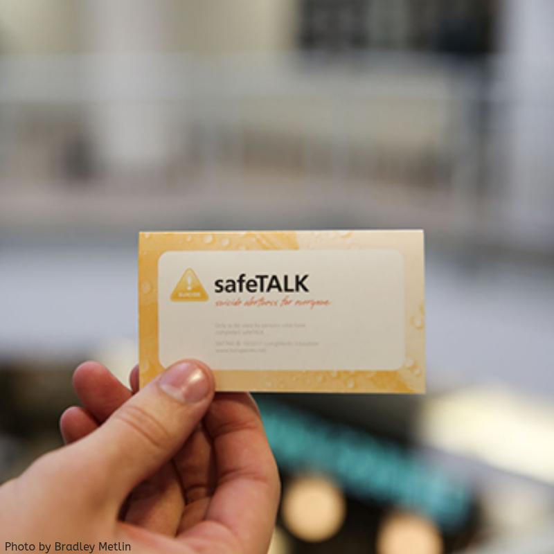 safe talk card
