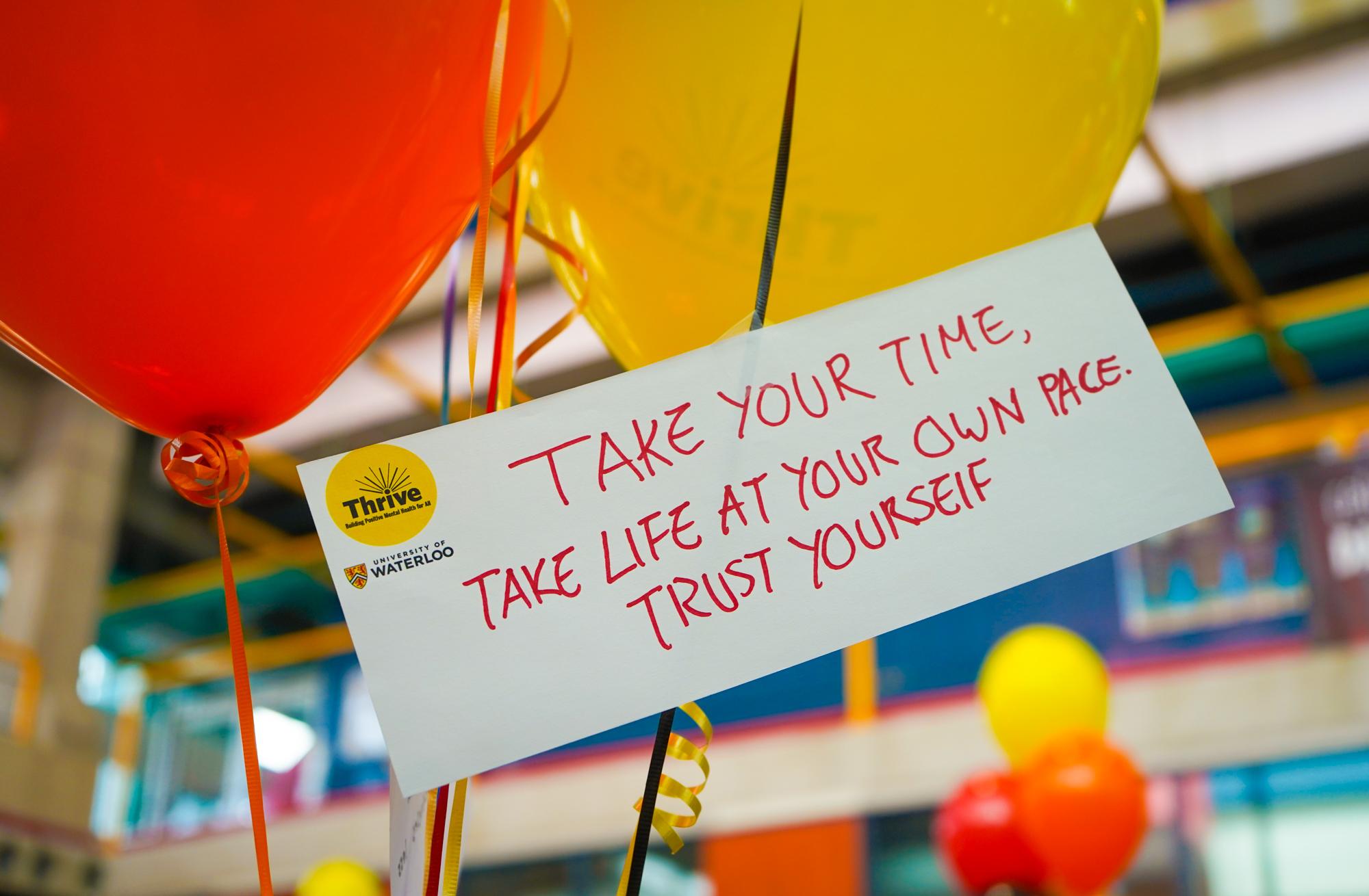 thrive balloons
