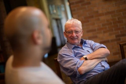 Michael Valpy speaks with Zeeshan Syed at Massey College