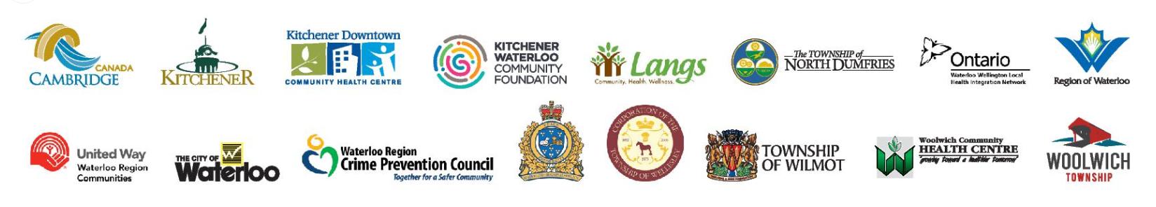 Waterloo Region survey partner logos