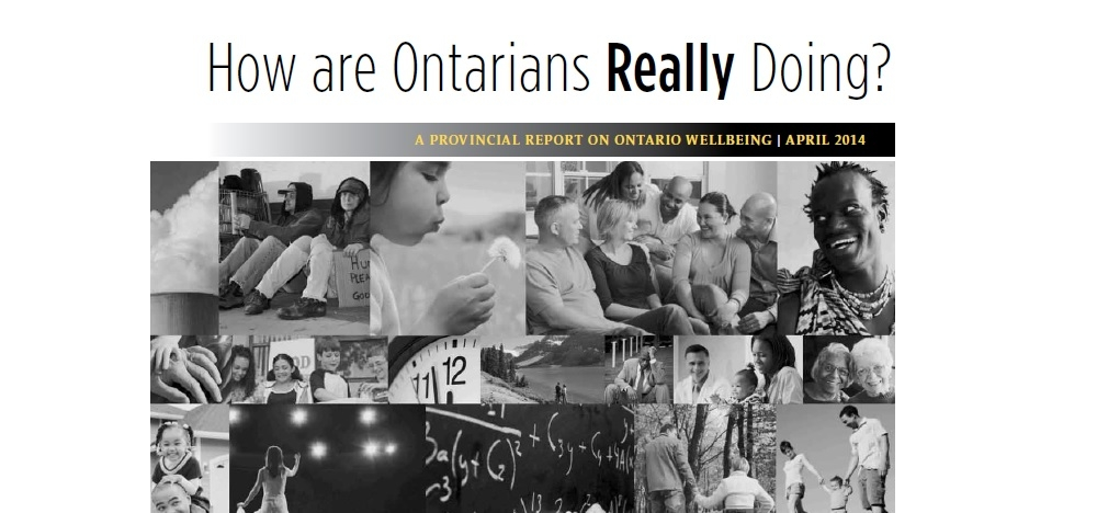 How are Ontarians really doing?
