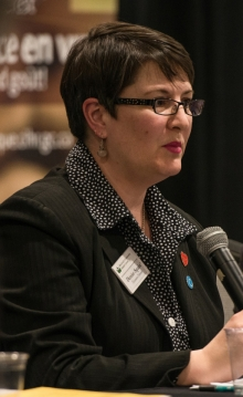 Denise Squire, Executive Director, Woolwich Community Health Centre