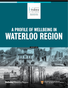 Waterloo Wellbeing Survey 2018 report cover