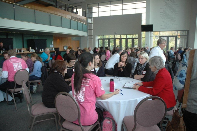 group discussions at Guelph forum