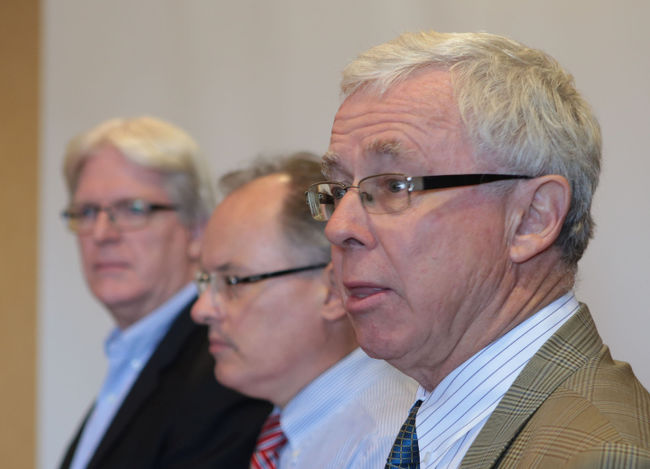 Kieran Moore, Bryan Smale, George Thomson