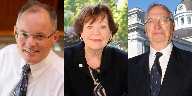 Kieran Moore, Florence Campbell, Peter Kirkham