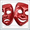 Leisure and culture- theatre masks