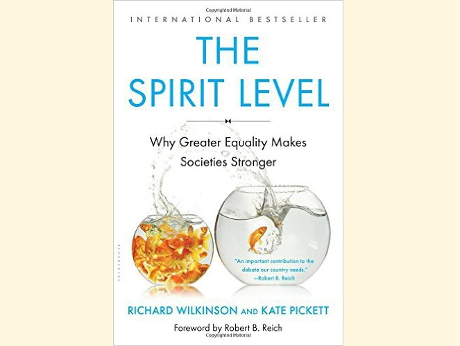 The Spirit Level book cover