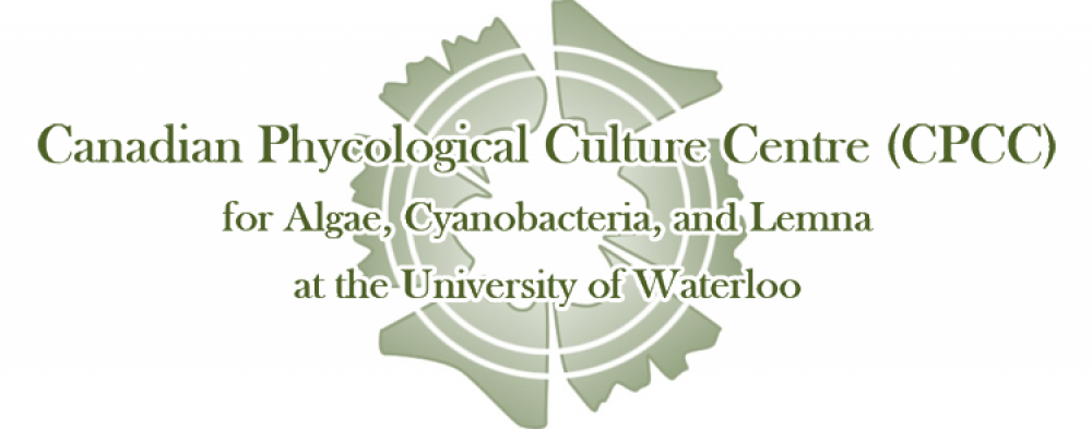 Canadian phycological culture centre (cpcc) for algae, cyanobacteria, and lemna at the University of Waterloo