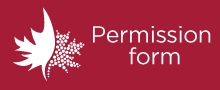 Call to action button for parents to enter permission form