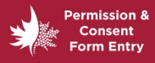 Permission and consent form entry