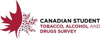 Canadian Student Tobacco, Alcohol and Drugs Survey logo.