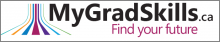 MyGradSkills.ca Logo and Link