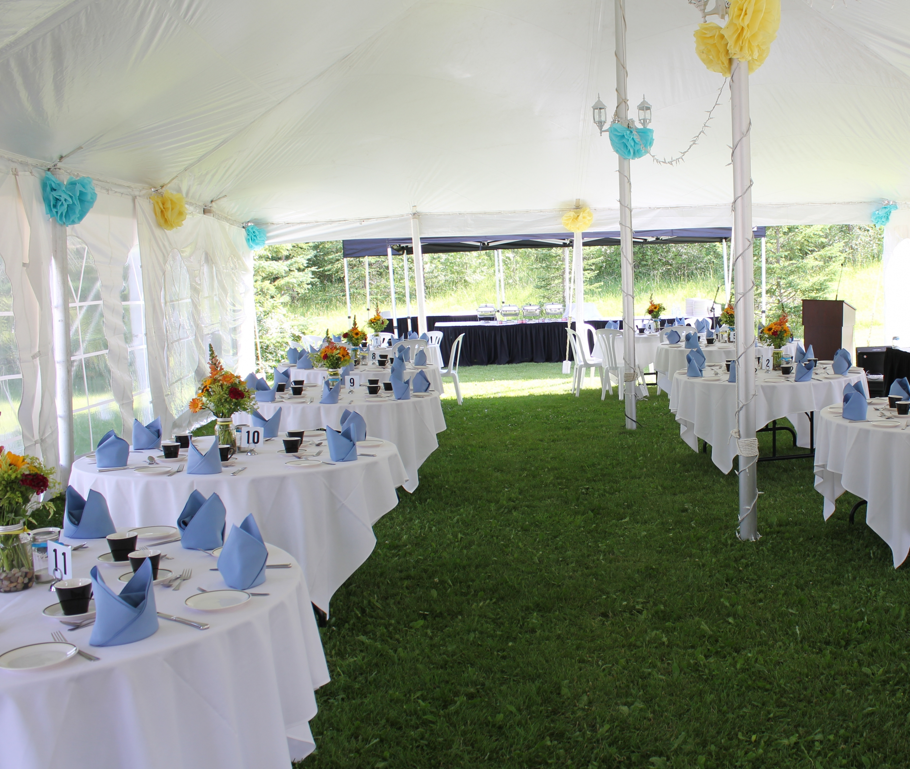 backyard wedding reception catering wedding outdoor weddings