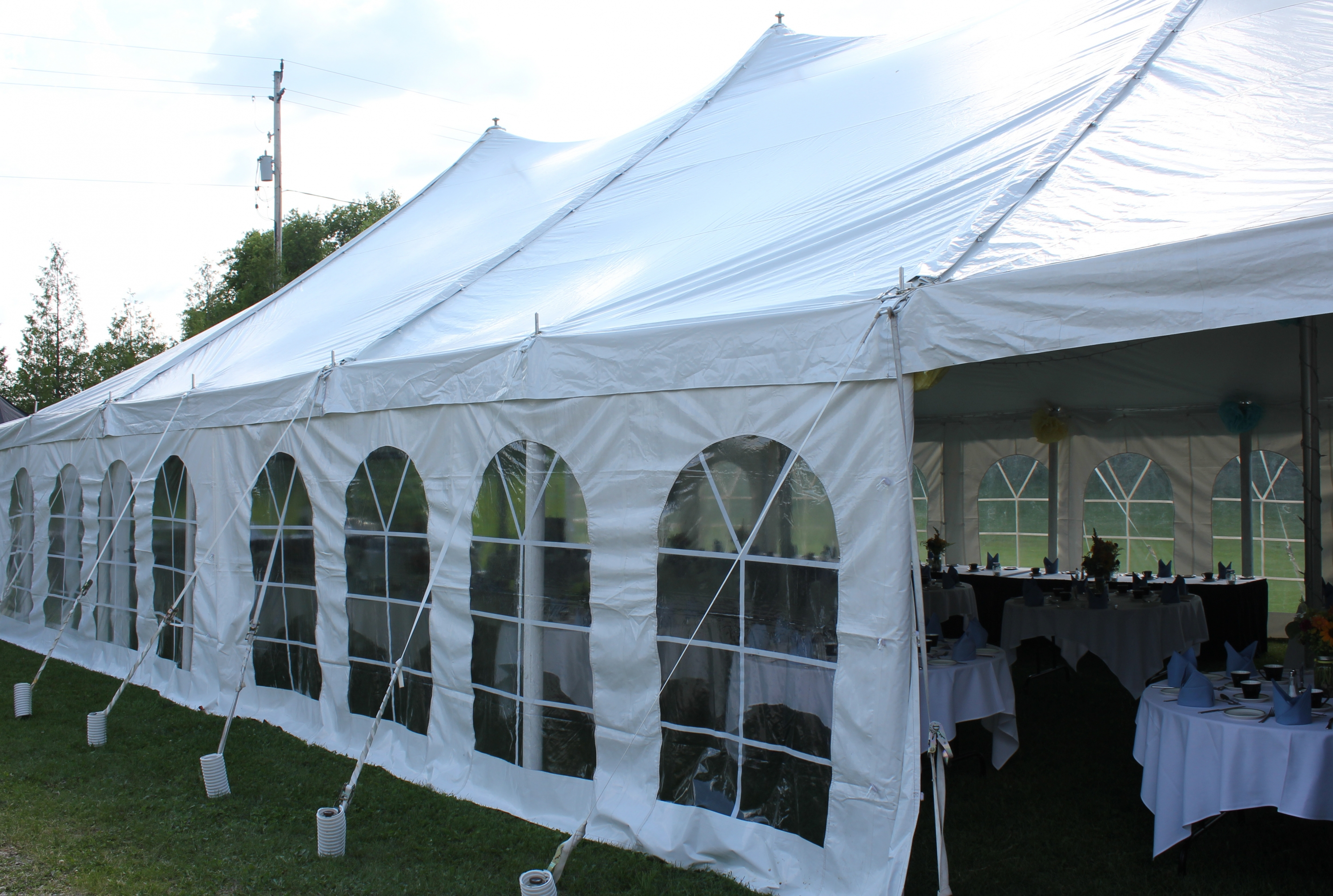 Outdoor Home Wedding Catering University Of Waterloo