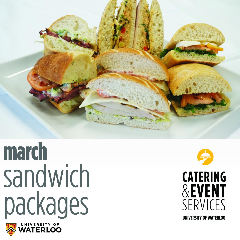 march sandwich package