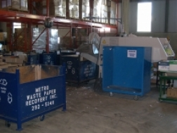 Recycling room