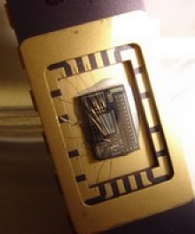 Microsensor test chip