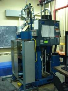 A single phase spot welder
