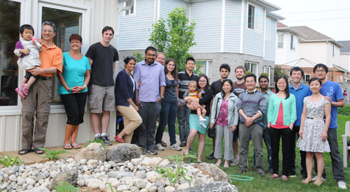 The Centre for Advanced Materials Joining members during annual barbeque