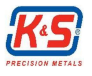K and S Precision Metals logo