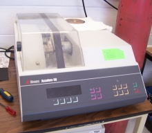 A Accuton-50 wafer cutting machine