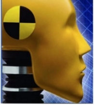 crash test dummy head