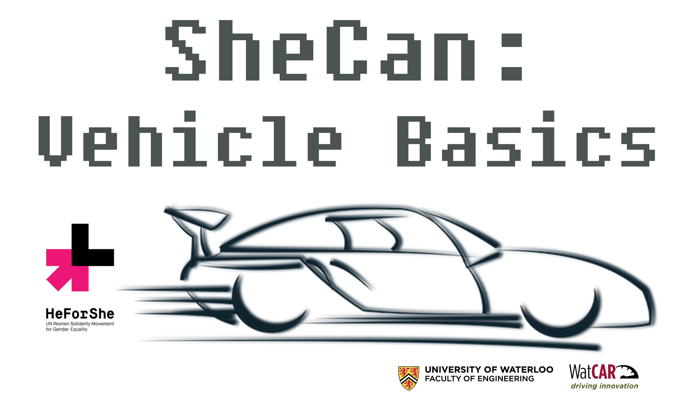 SheCan Vehicle Basics logo