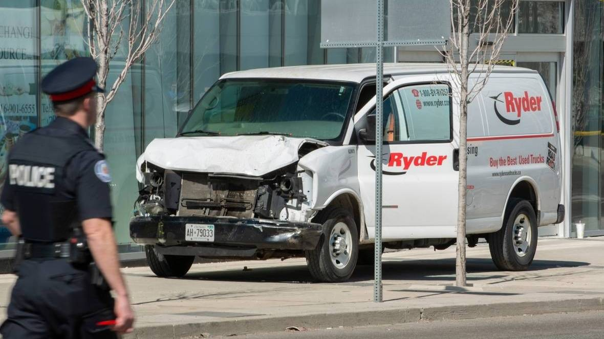 White van in Toronto attack