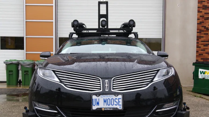 WatCAR Autonomoose vehicle