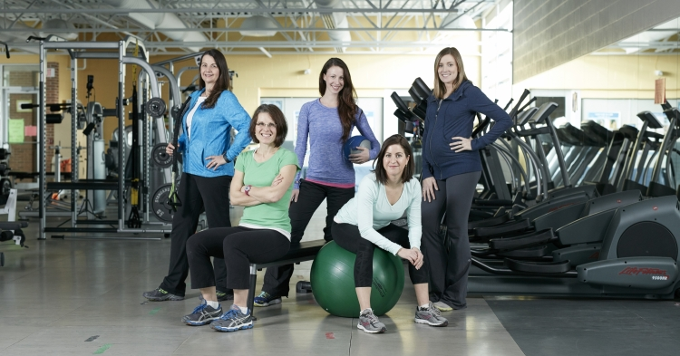 Group photo of UW Fitness staff