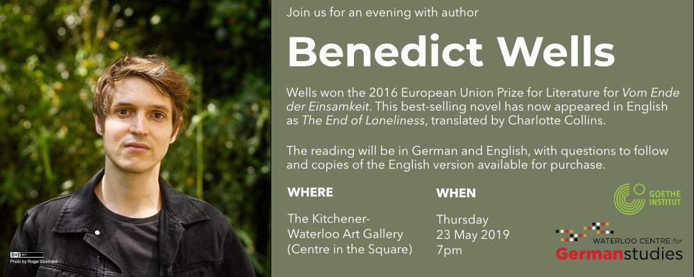 Benedict Wells Thursday May 23