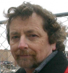 Headshot of rych mills, local historian, member of Berlin/Kitchener discussion panel