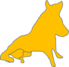 An outline of Porcellino, the Faculty of Arts' mascot.