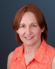 Head shot of guest speaker, Nina Vyatkina of the University of Kansas