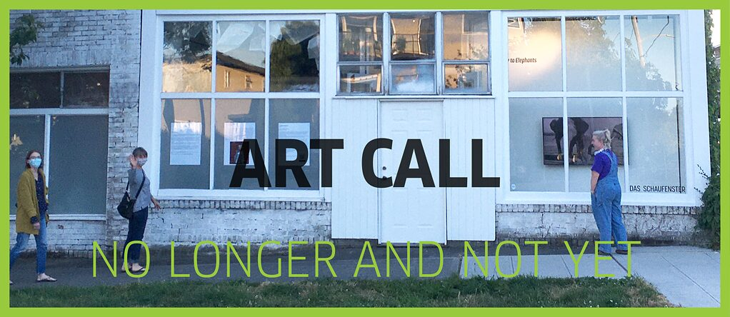 Art Call: No Longer And Not Yet Poster