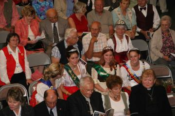 People attending German Pioneers Day