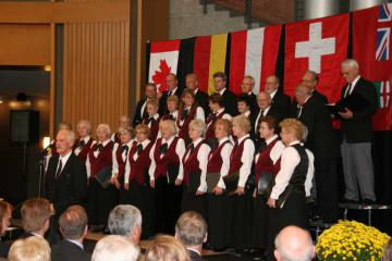 Choir at German Pioneers Day